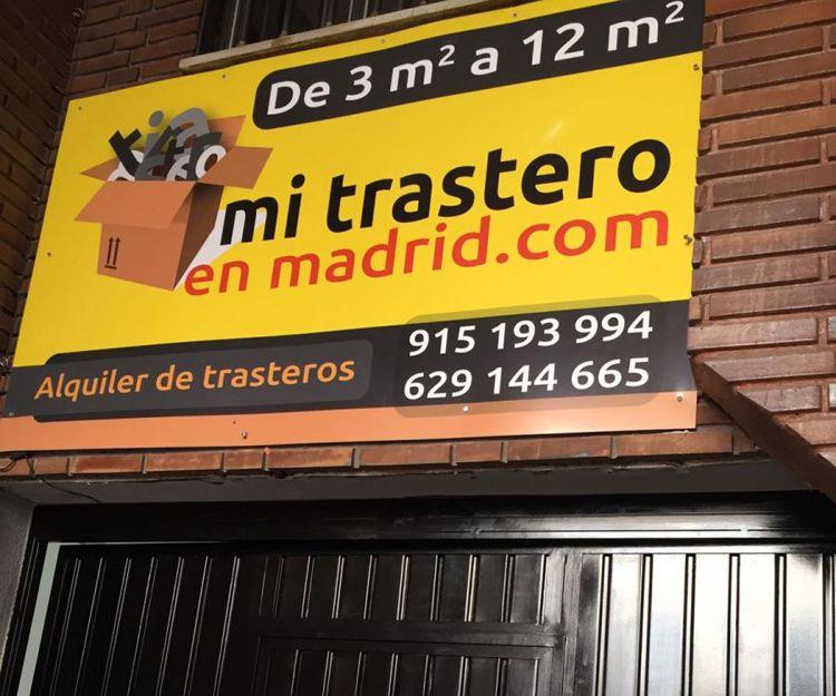 Alquiler de trasteros en Madrid