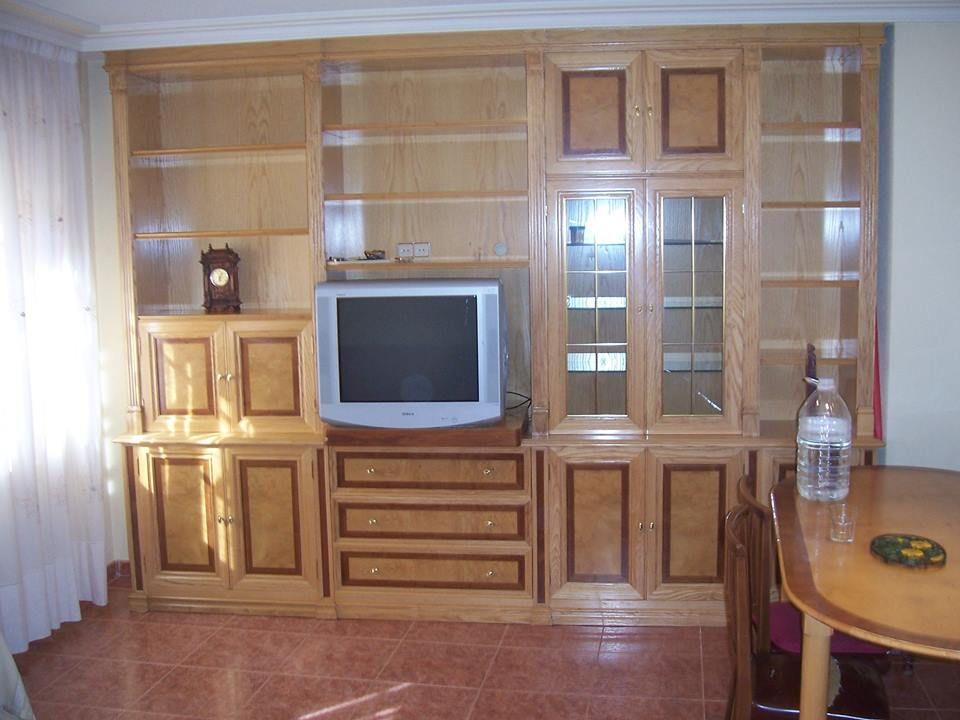 Muebles de salón a medida en Las Navas del Marqués