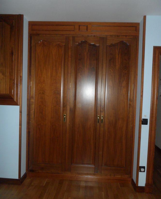 Puertas de madera a medida en Las Navas del Marqués