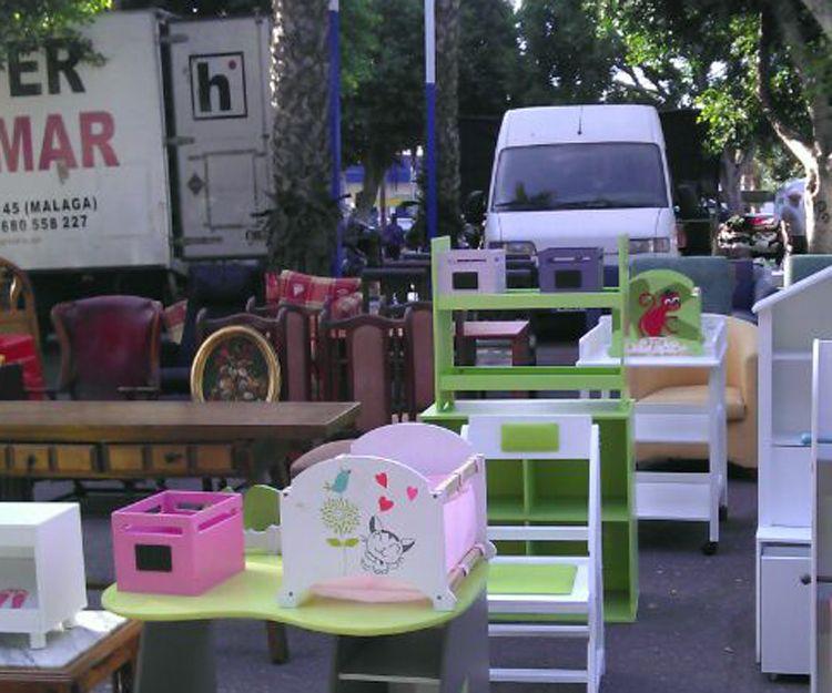 Recogida de muebles usados en Málaga