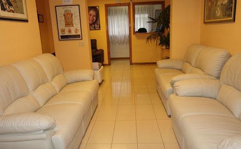 Nuestras instalaciones: sala de espera