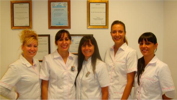 Somos un equipo de médicos especializados con una formación continua