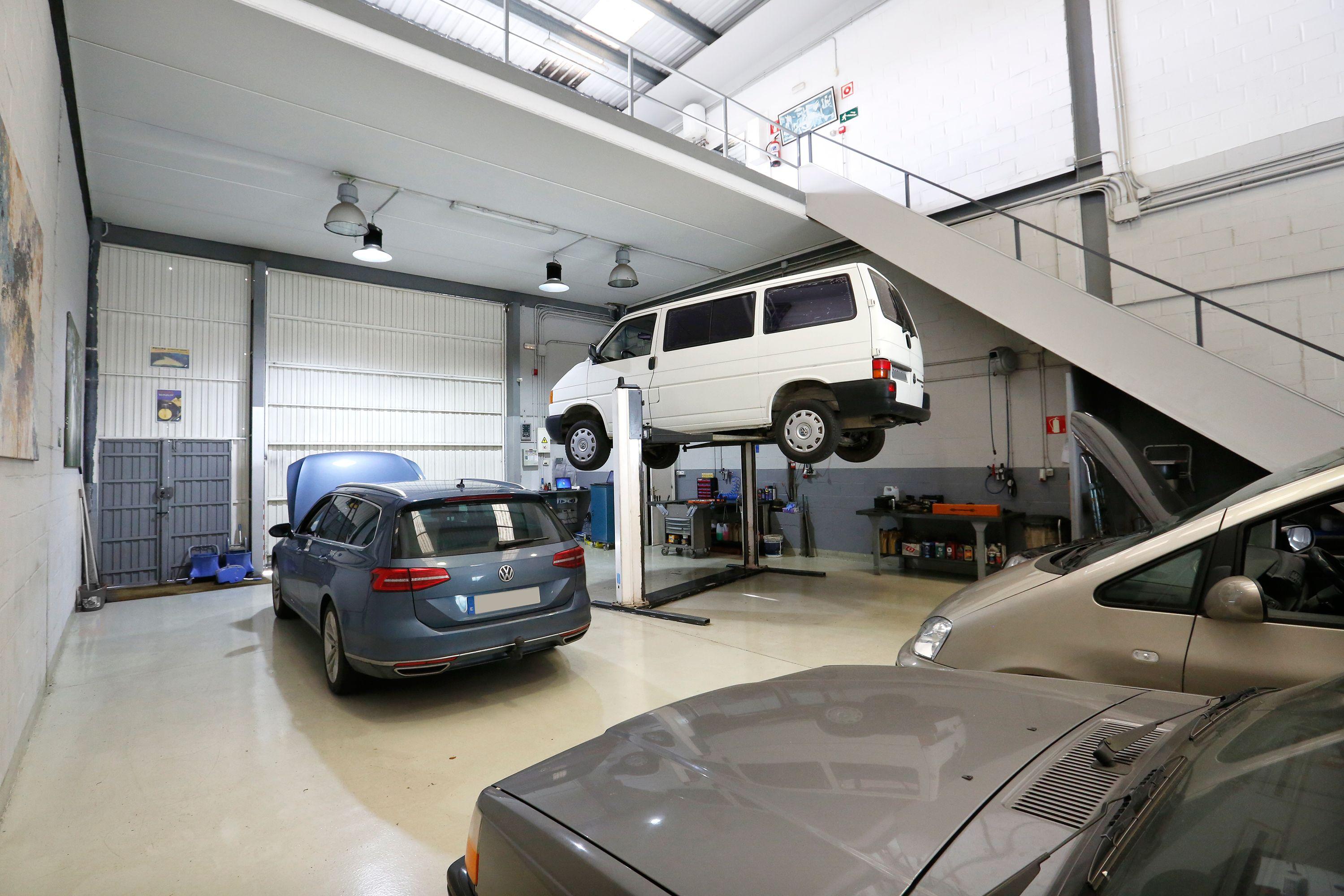 Mantenimiento de vehículos multimarca en Getxo