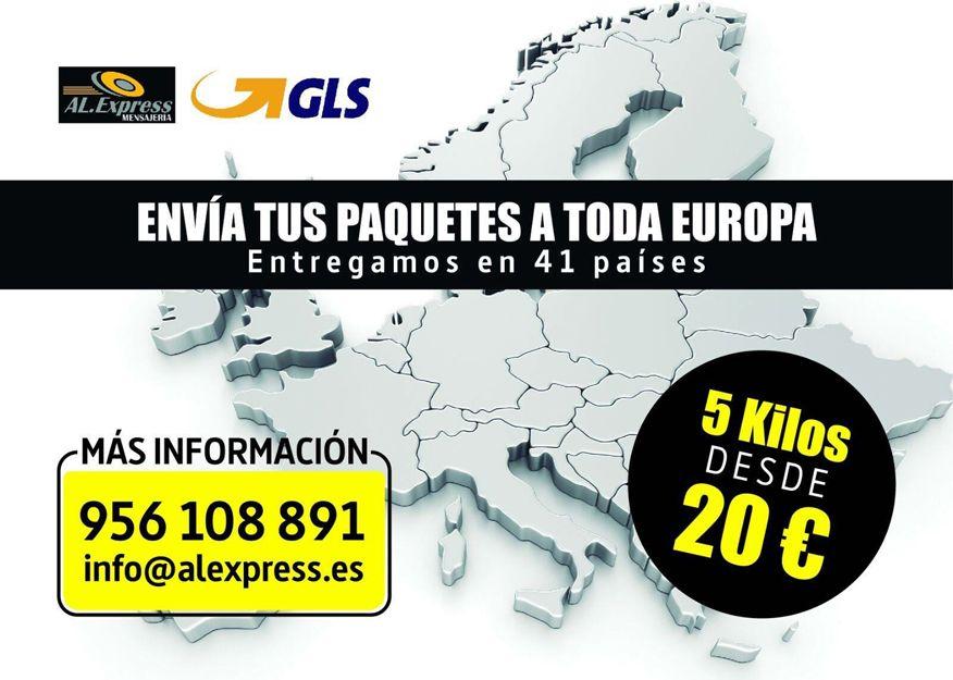 Empresa de paquetería internacional en Cádiz