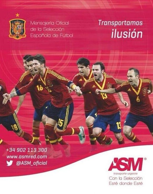 Mensajería Oficial de la Selección Española de Fútbol