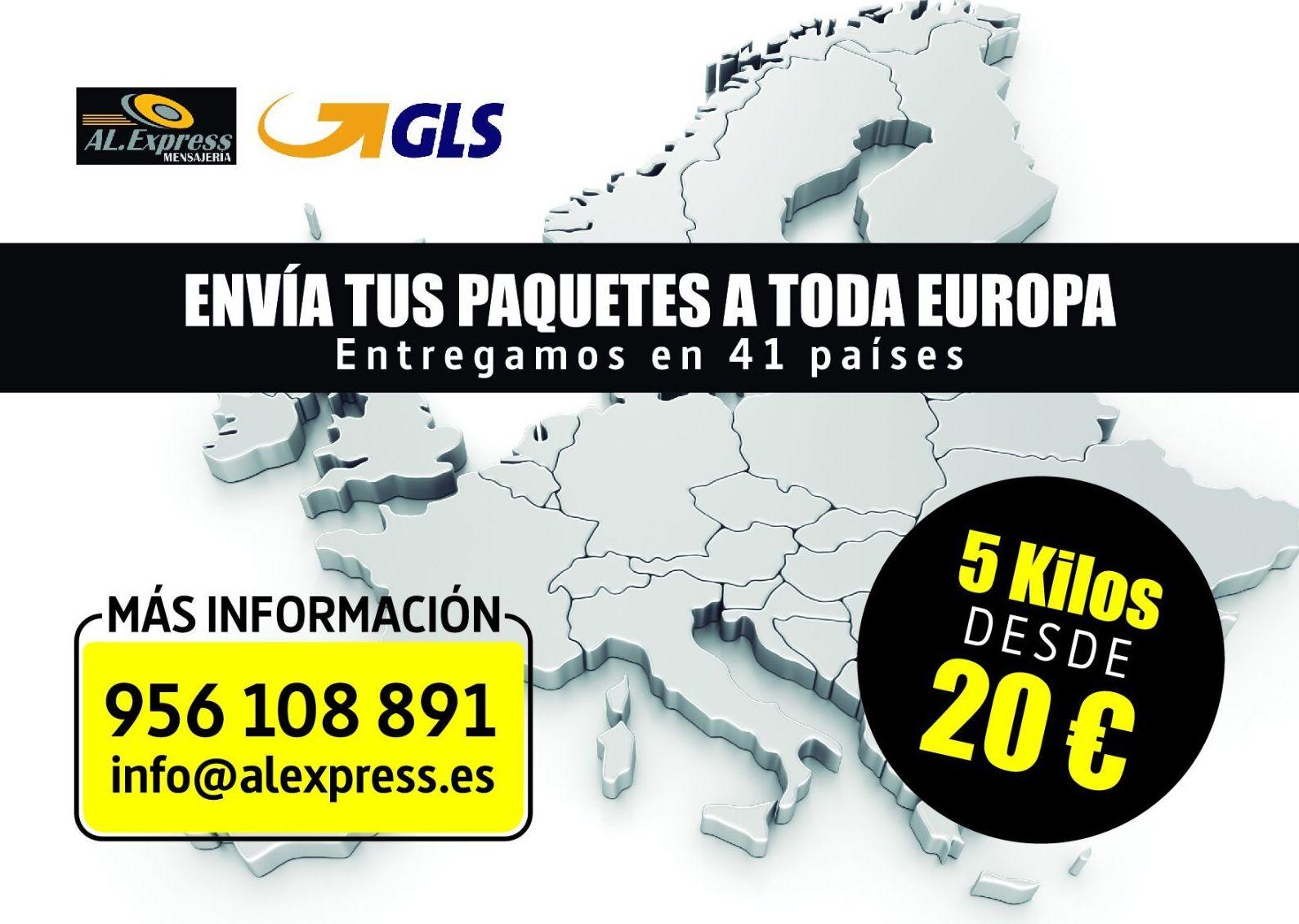 Europa 5 kilos: Productos y servicios de Al.Express Mensajería