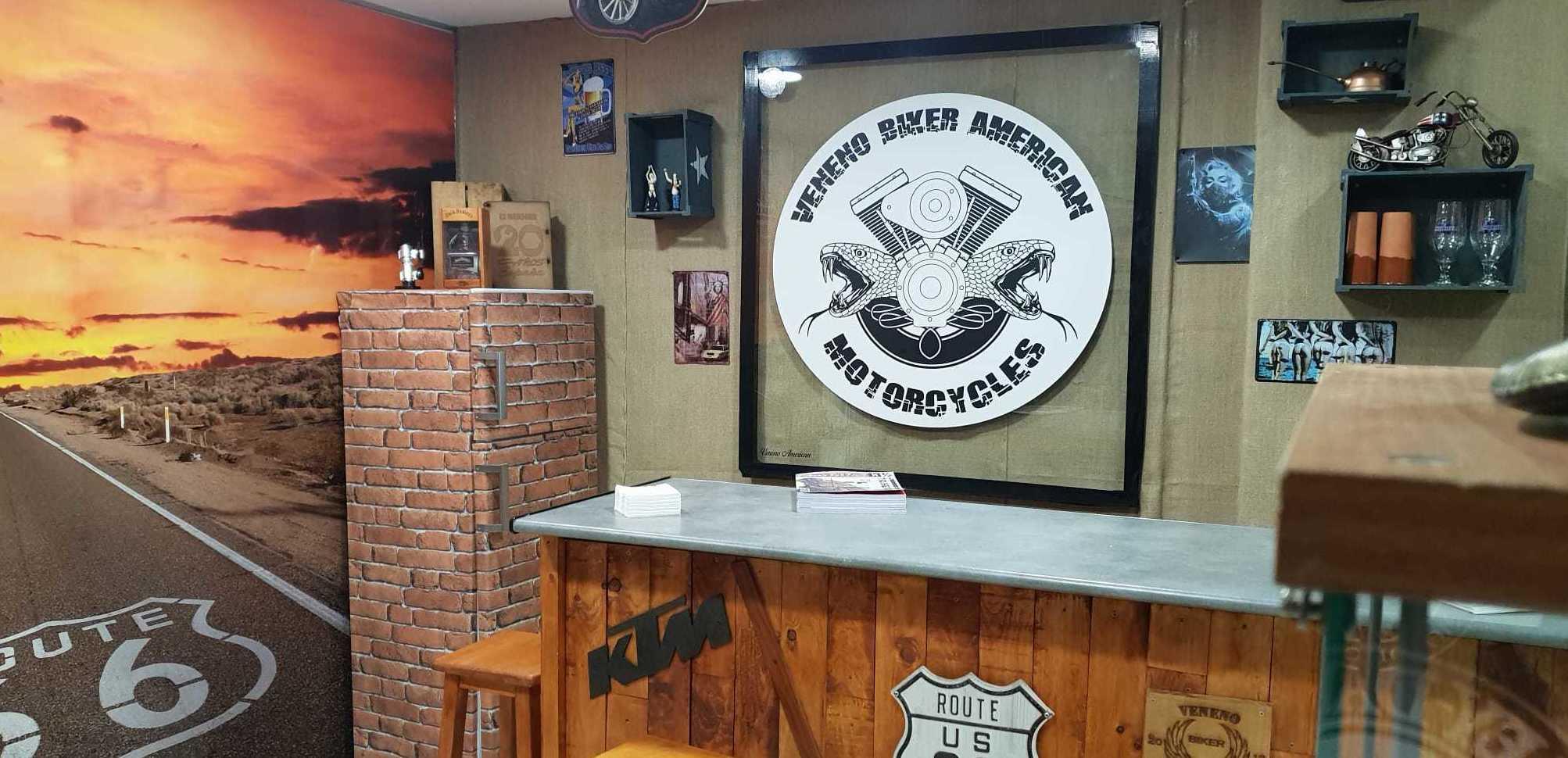 Foto 5 de Taller y tienda de motos en  | Veneno Biker American