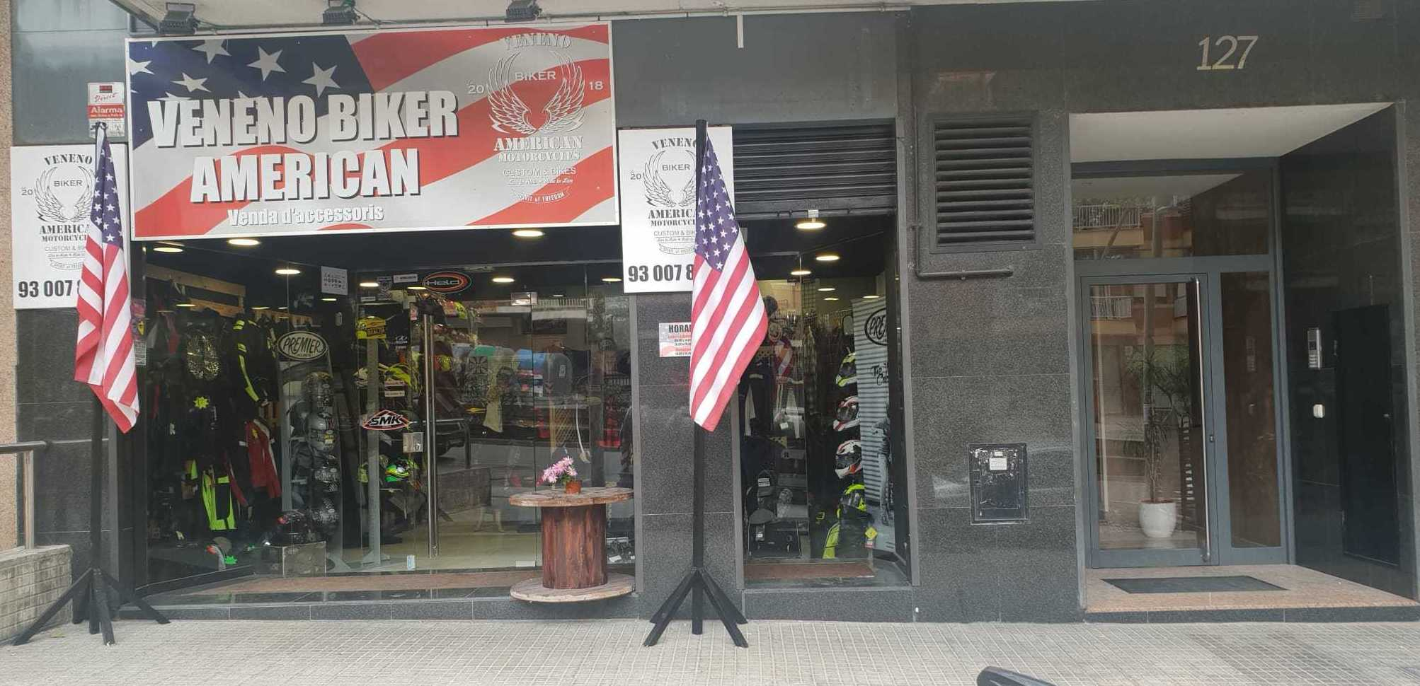 Foto 7 de Taller y tienda de motos en  | Veneno Biker American
