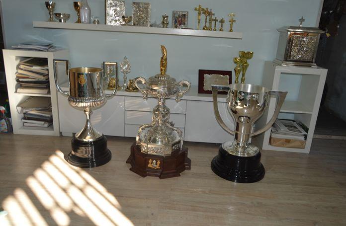 Venta de trofeos en Getafe
