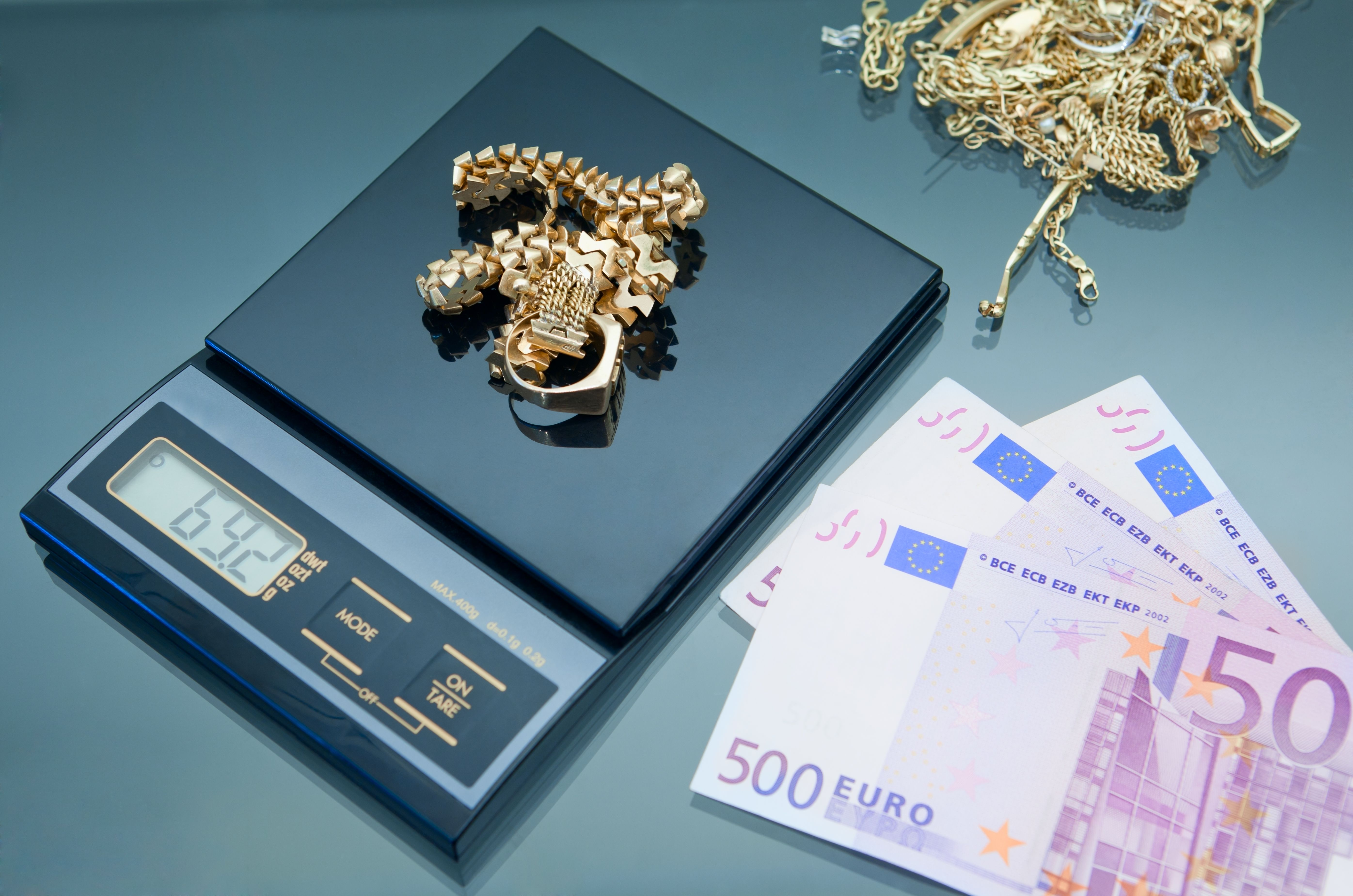 Máxima tasación oro Gandía