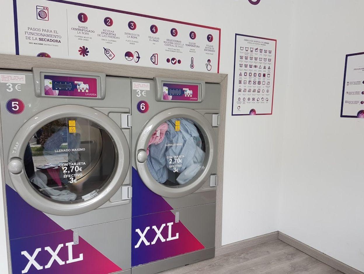 Lavandería con lavadoras de última generación en Zaragoza