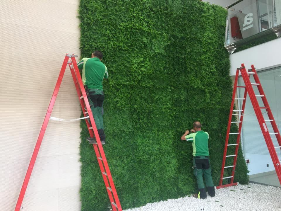 Instalación de jardines verticales en Huelva