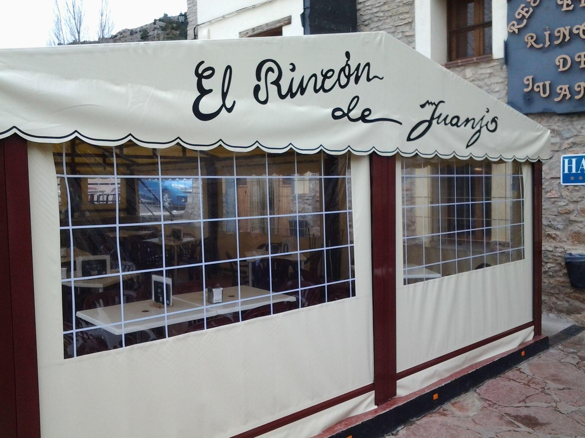 Restaurante con terraza cerrada en Virgen de la Vega, Teruel