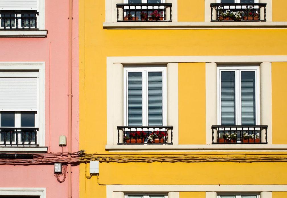 Pintura de exteriores, fachadas: Servicios de Pintores Hermanos Dosuna