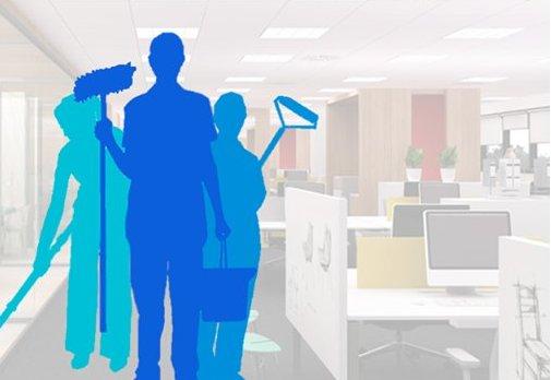 Limpiezas de negocios y empresas: Servicios de GRUPO SERLIMAN