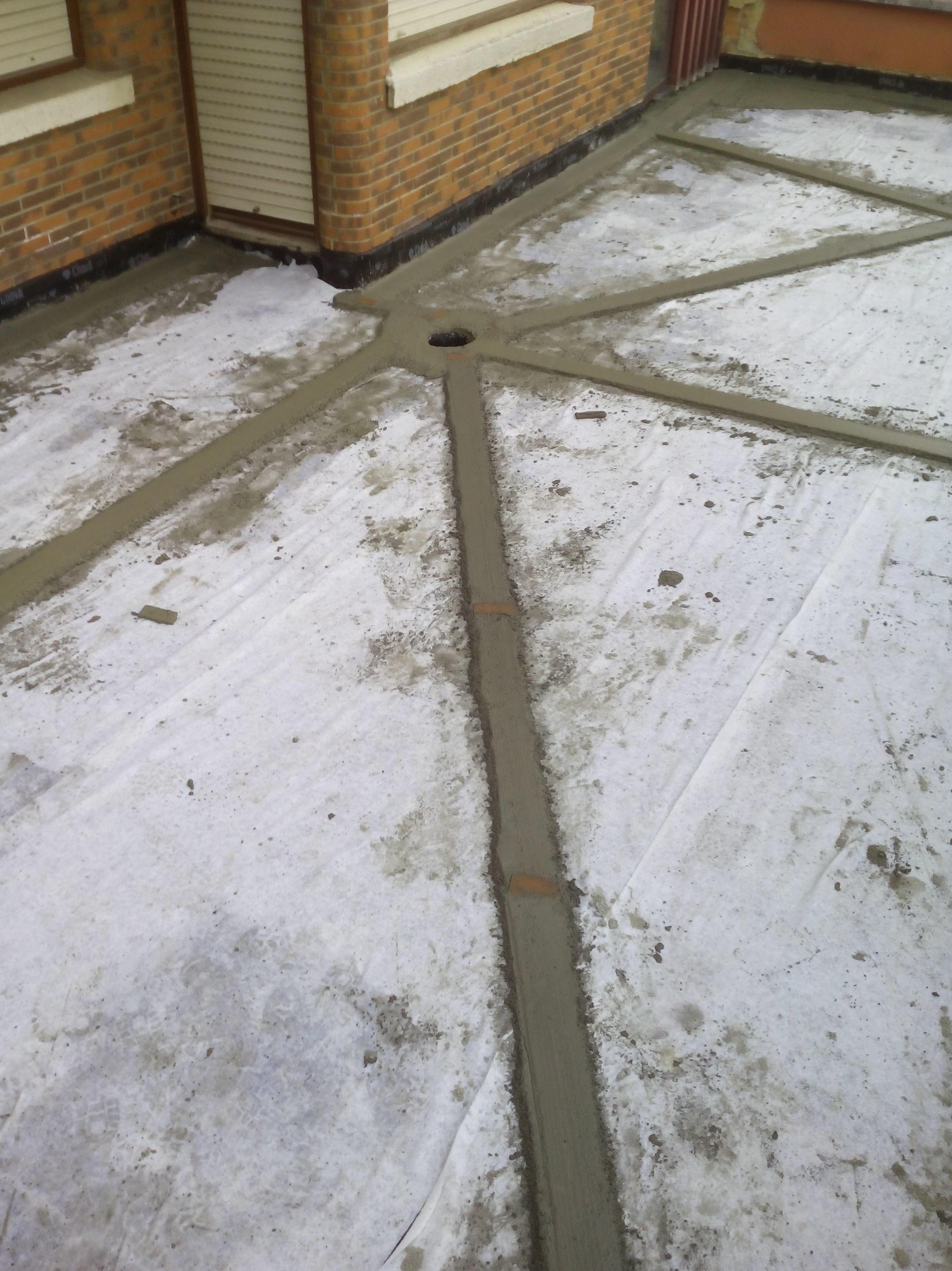 Desagüe de terraza