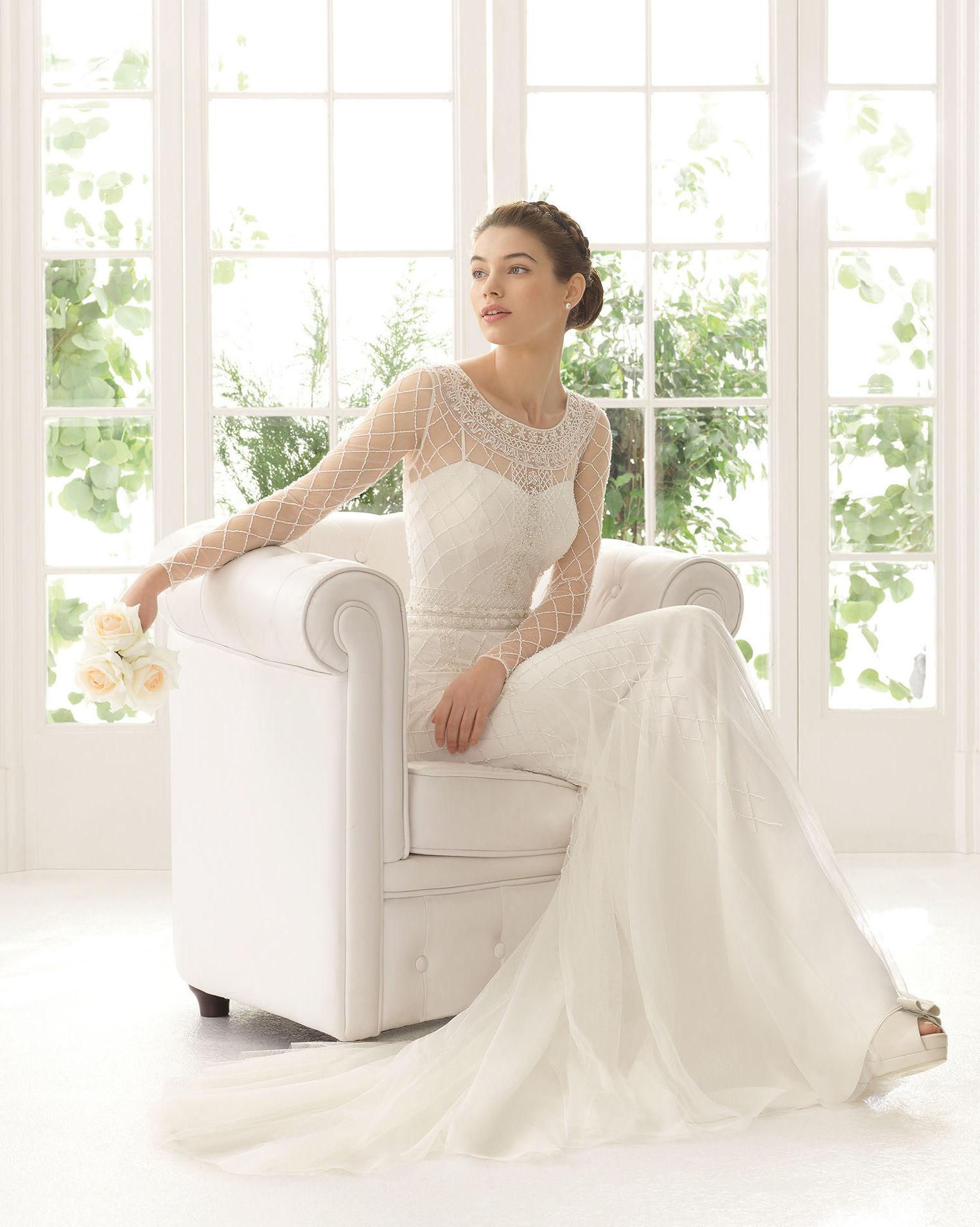 Per Sempre Novias, colección Aire, modelo Aisha