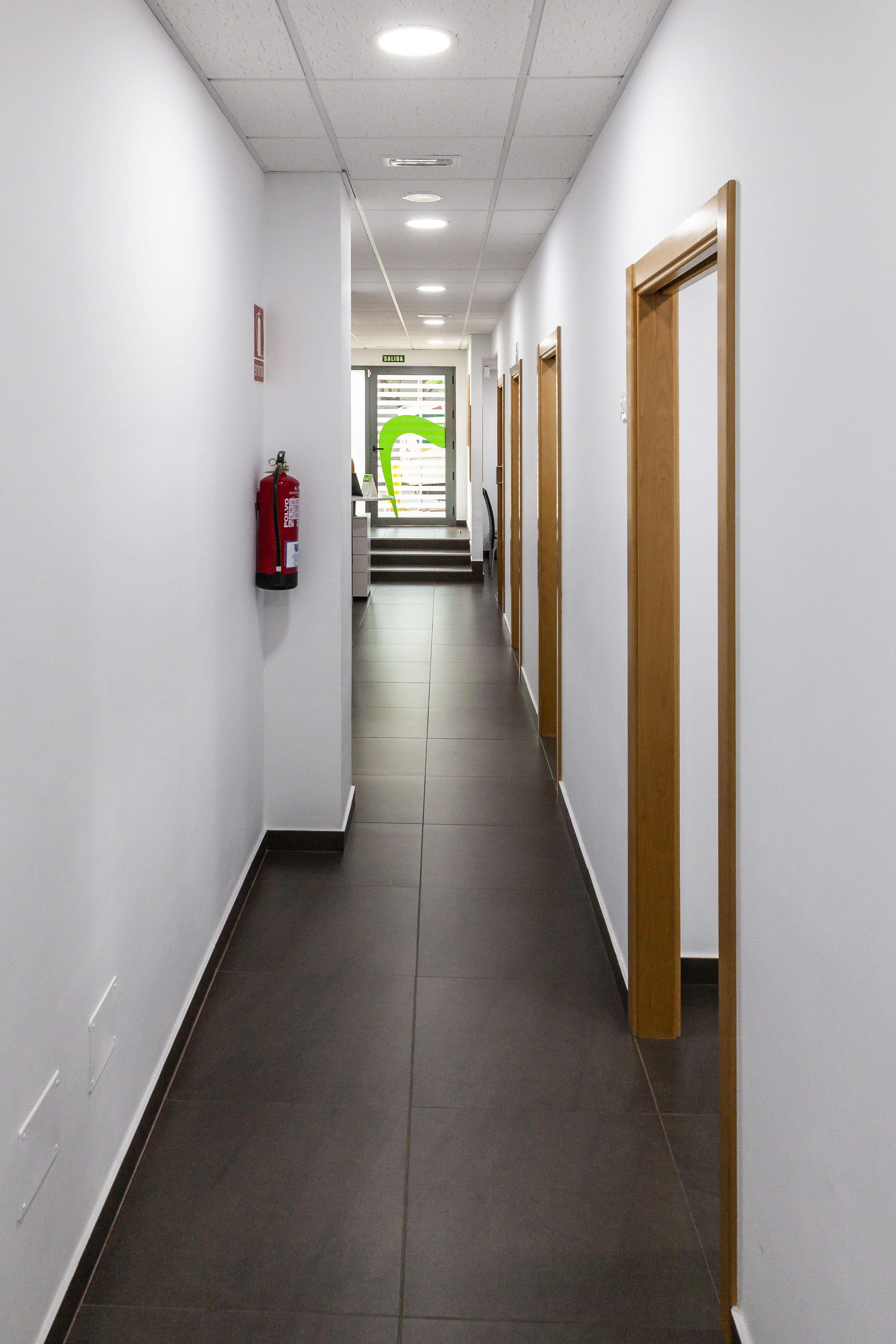 Pasillo Centro de Estética Dental Innova