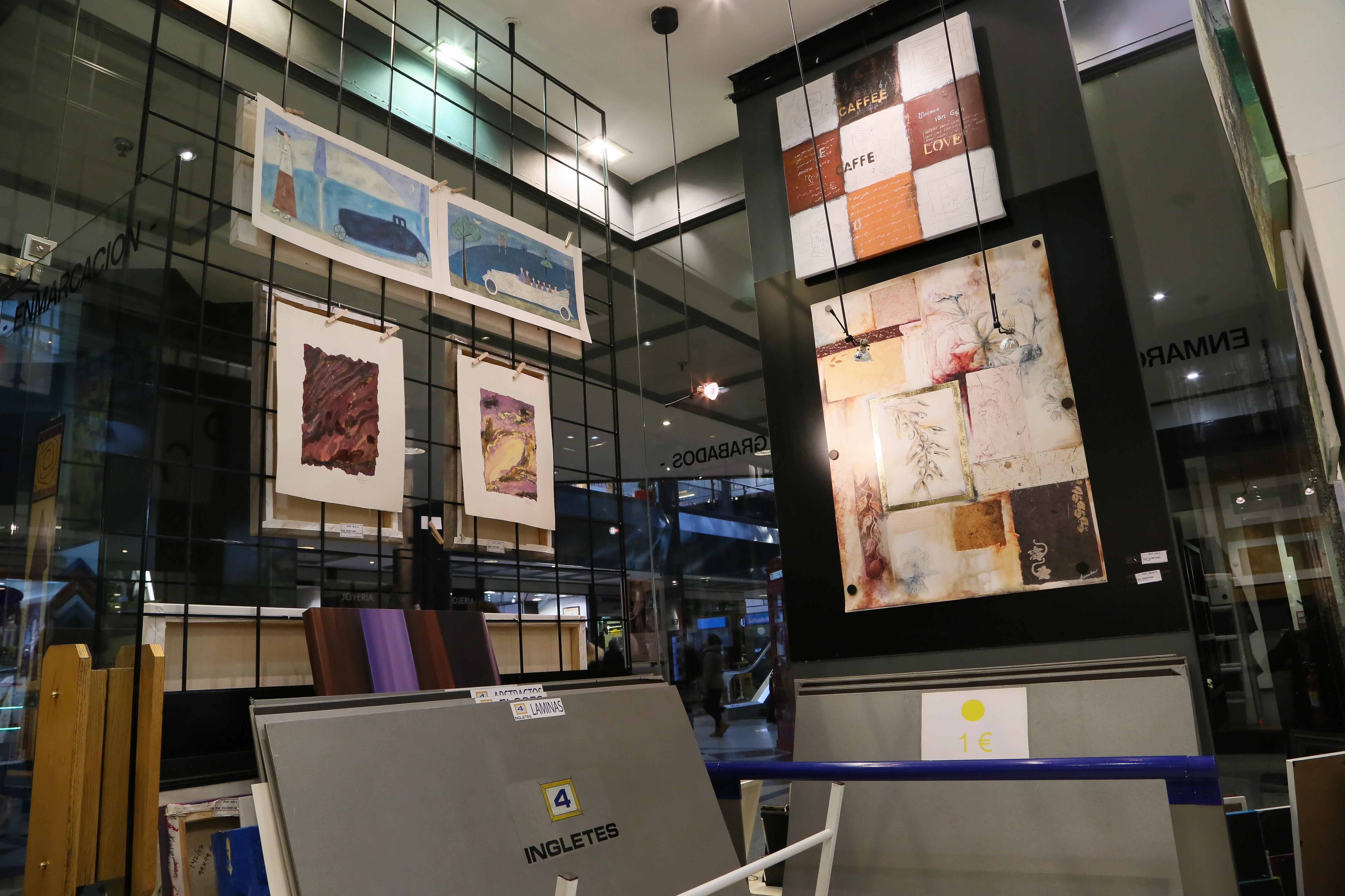 Láminas y cuadros para enmarcar