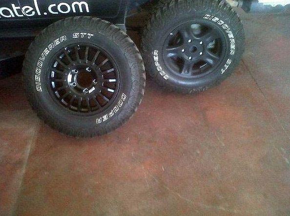 Mecánica y neumáticos 4x4 en Herrero Automoción