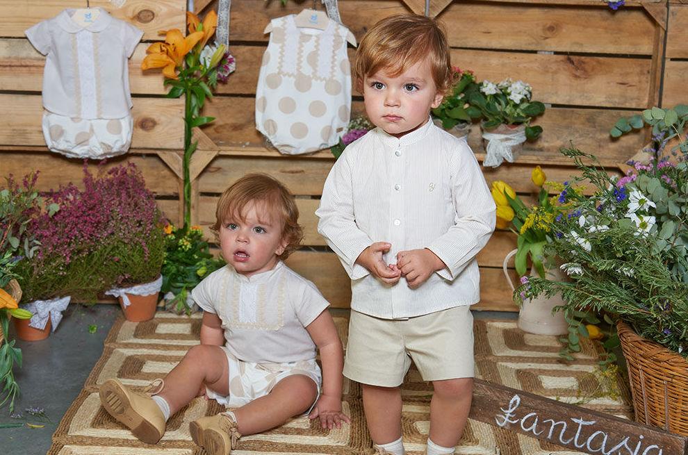 Pantalones y camisas para bebés