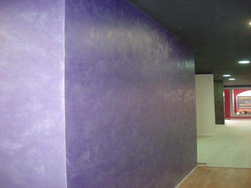 Efecto seda metalizada: Trabajos Pintura y Decoracion de Sotomur, S.L. Pintura y Decoración