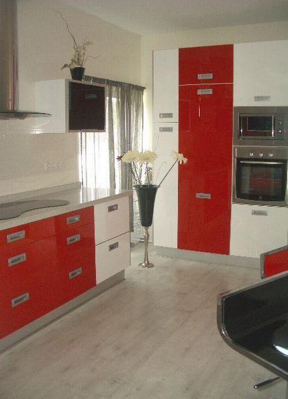 Muebles de cocina a medida en el centro de Madrid - Roseban