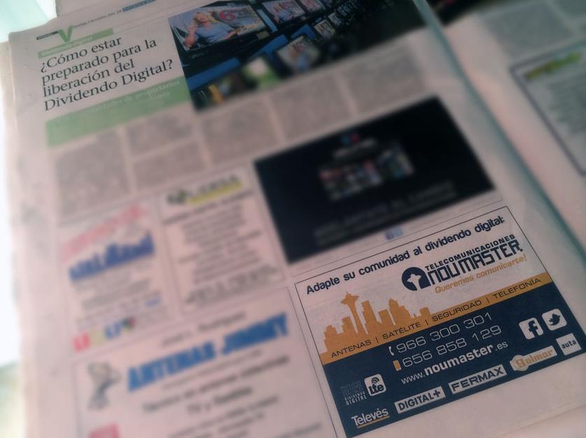 NOU MASTER en el especial sobre el dividendo digital