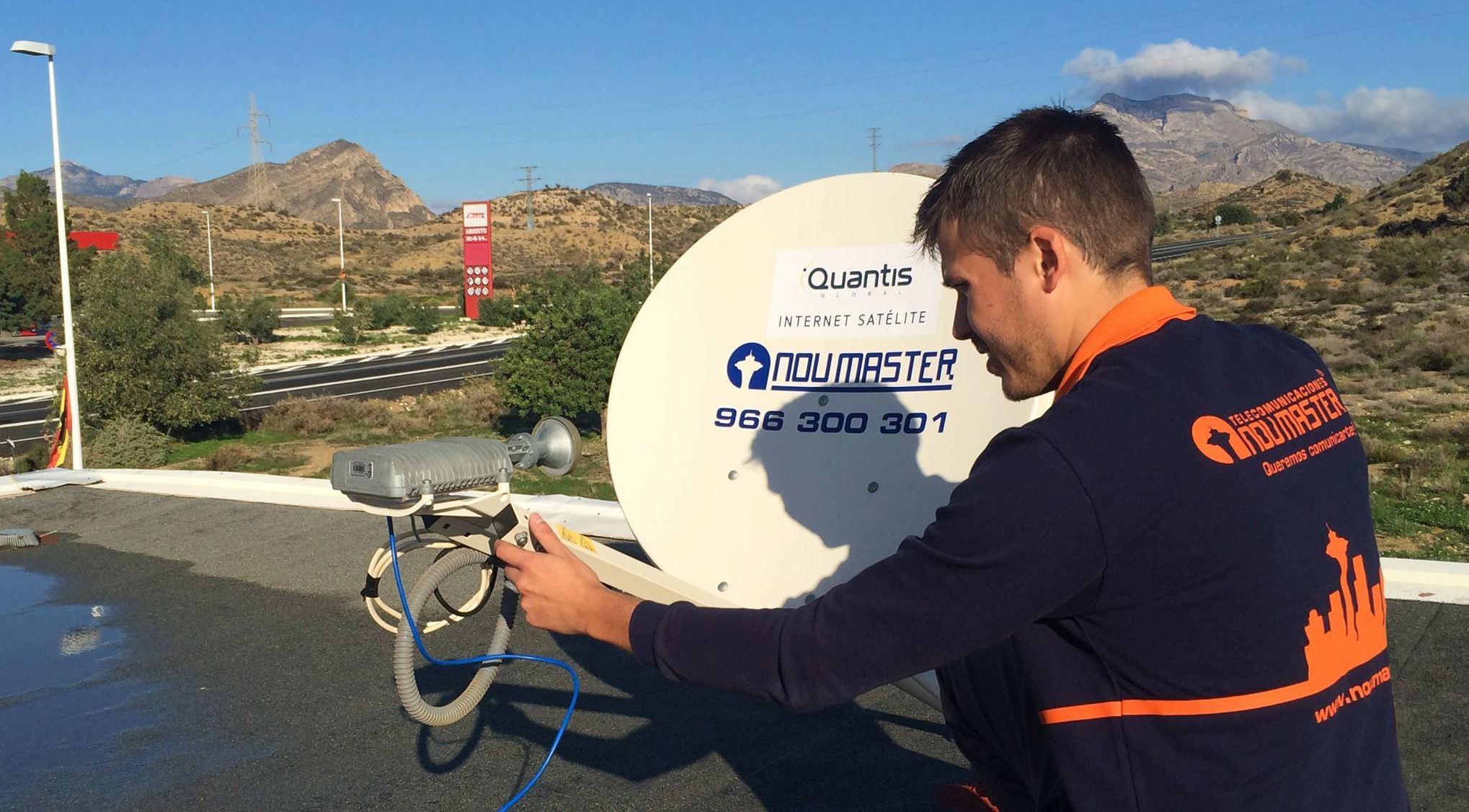 Internet por satélite en Alicante