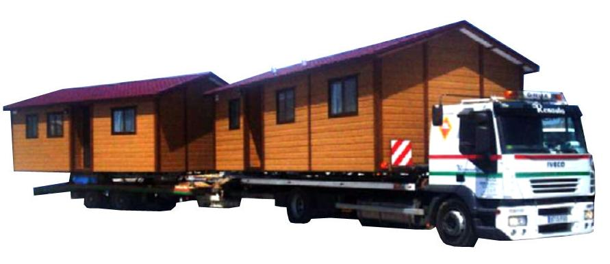 Transporte Especial de un Módulo Vivienda