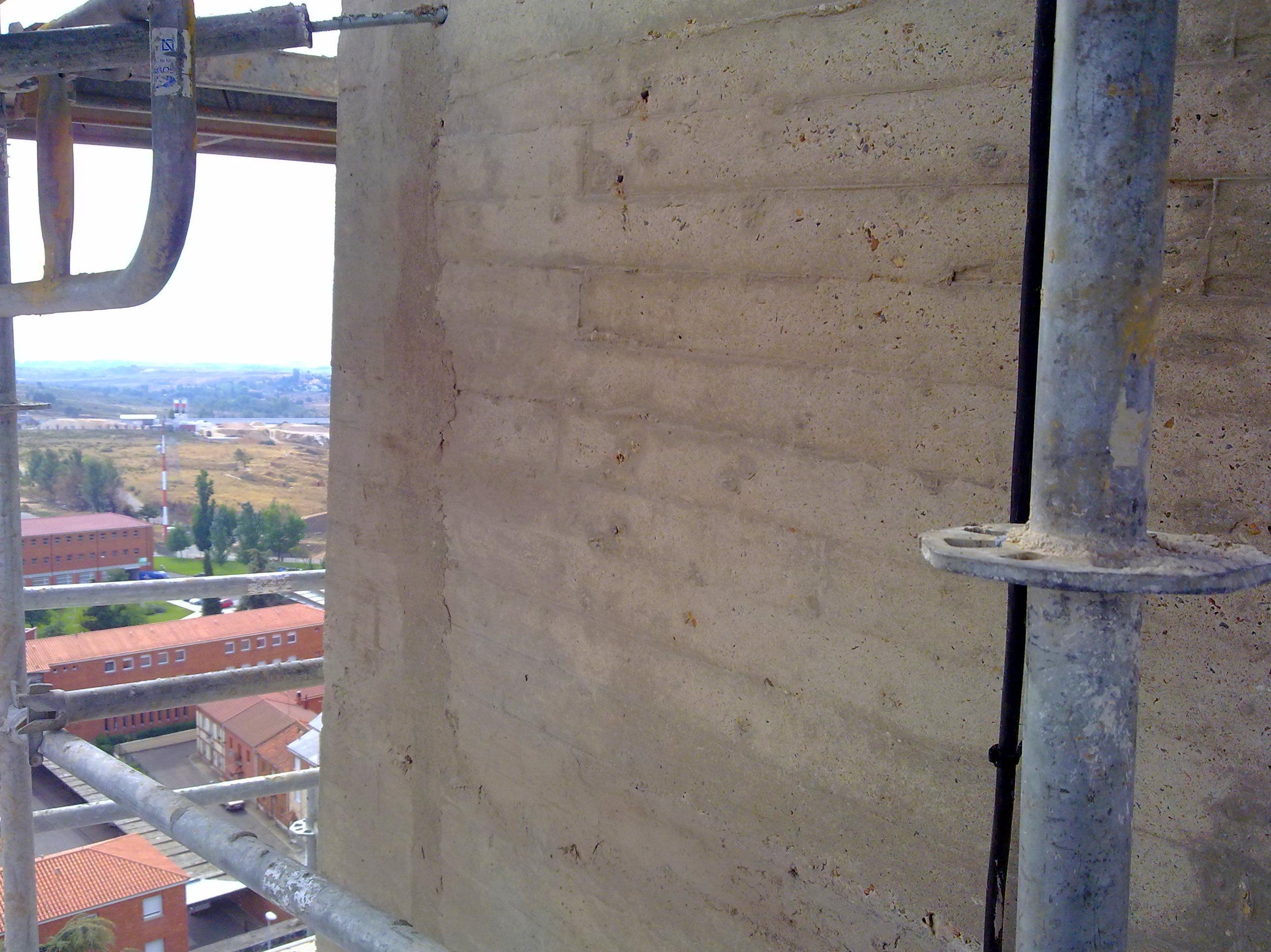 Reparación estructural de la Torre del Campanario del Santuario de La Virgen del Camino