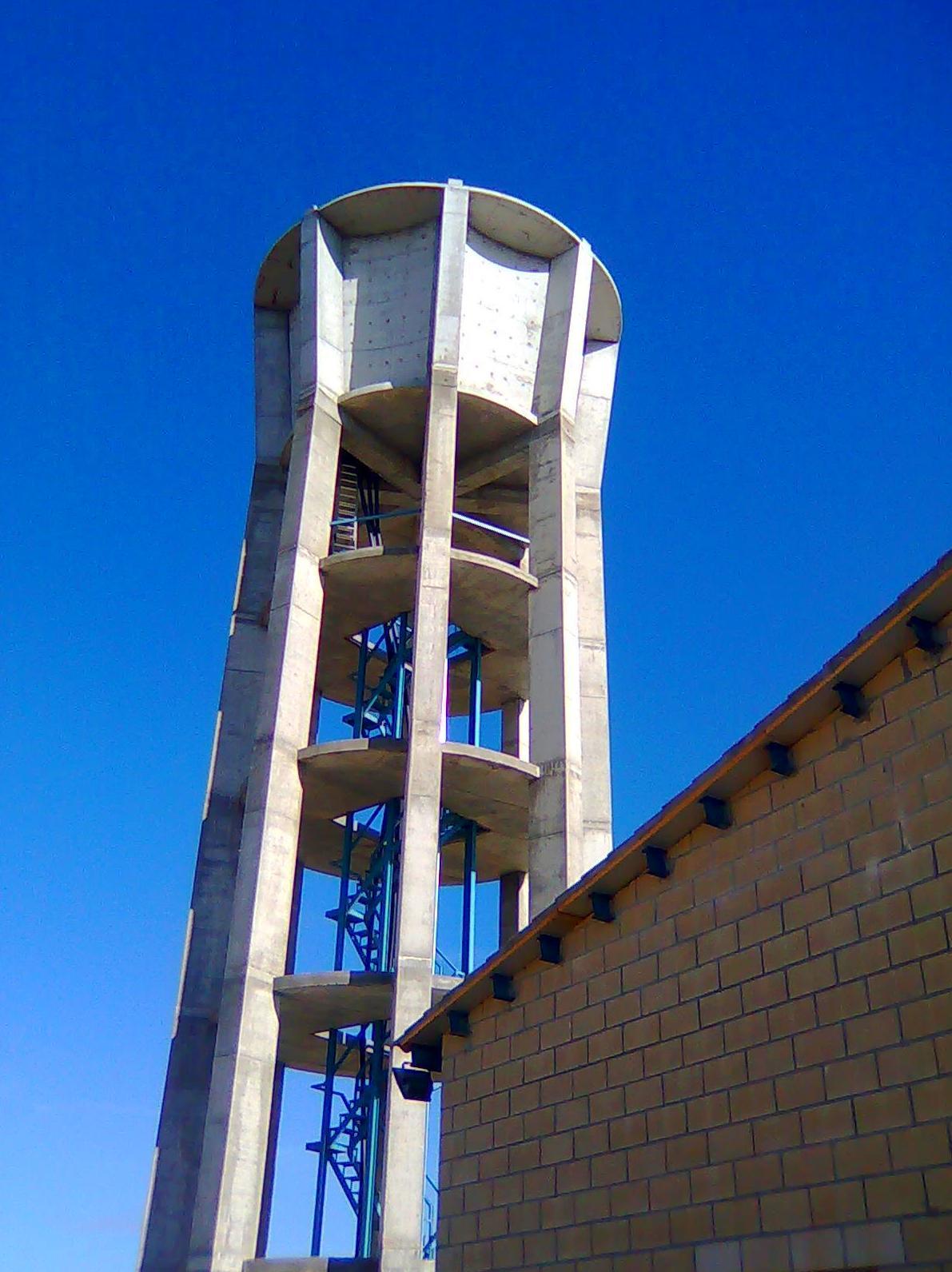 Impermeabilización interior de depósito de agua potable elevado