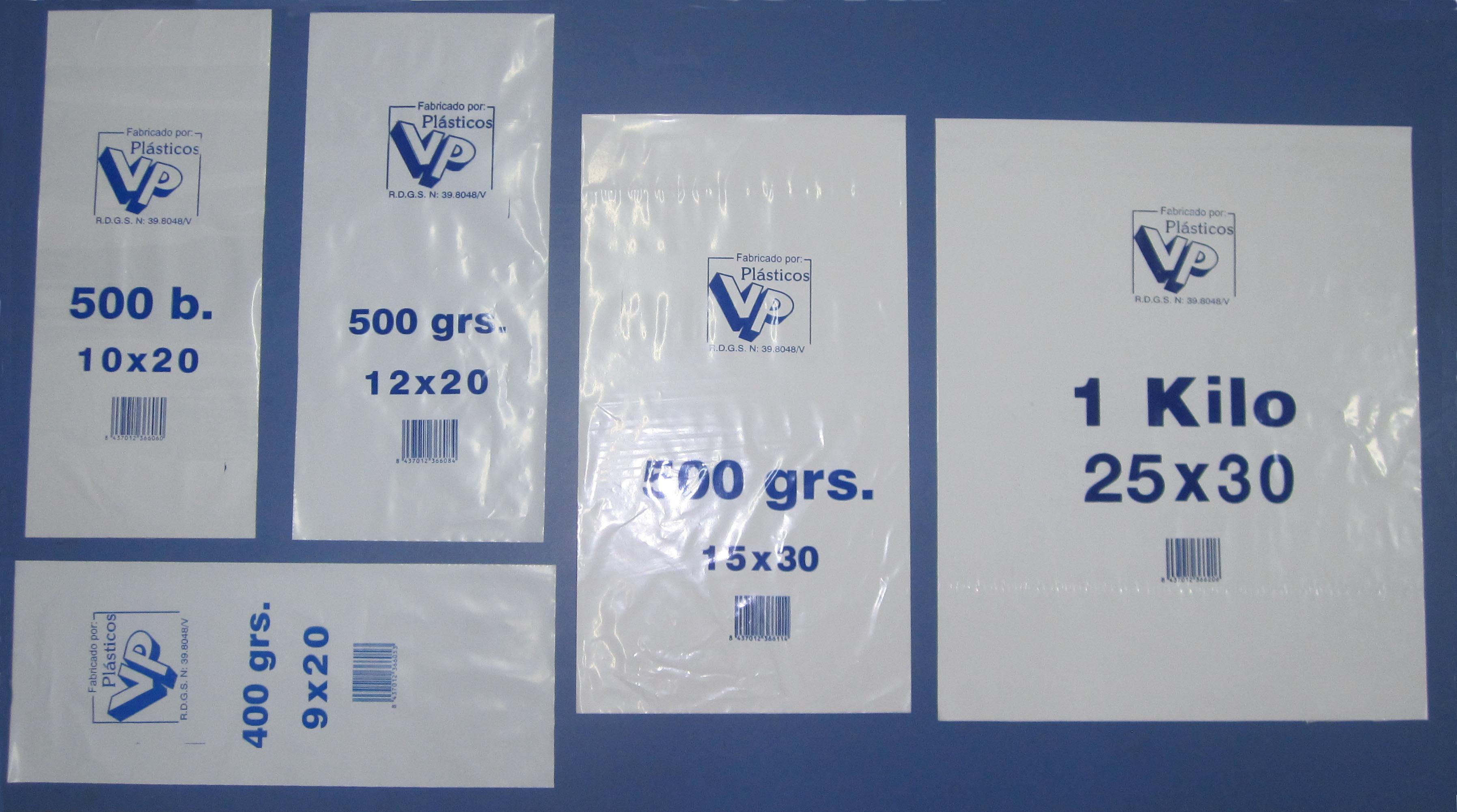 Bolsas de plástico de polietino baja densidad: Productos de Plásticos VP