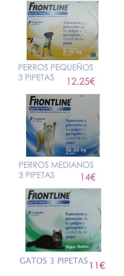 Front Line 3 pipetas: Productos de      La Casa del Campo