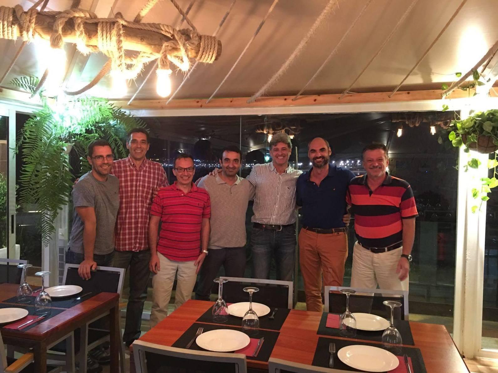 Visita de la OFGC (La orquesta filarmónica de Gran Canaria) y la AMPOS (Asociación de músicos profesionales de orquestas sinfónicas)