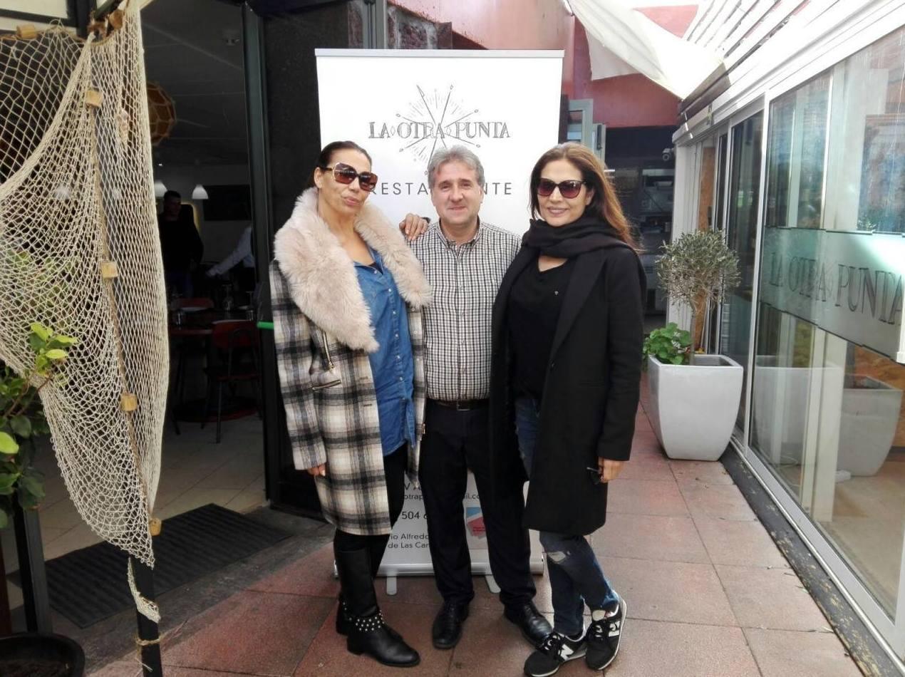 Encarna y Toñi del dúo azúcar moreno en La Otra Punta