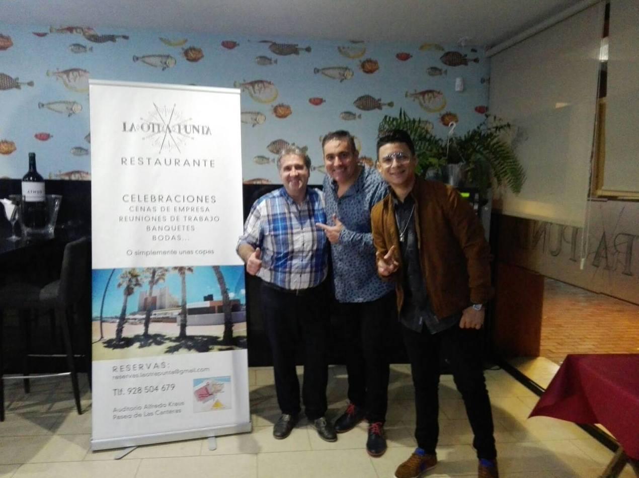 Éxito del concierto del grupo Aseres en nuestro restaurante