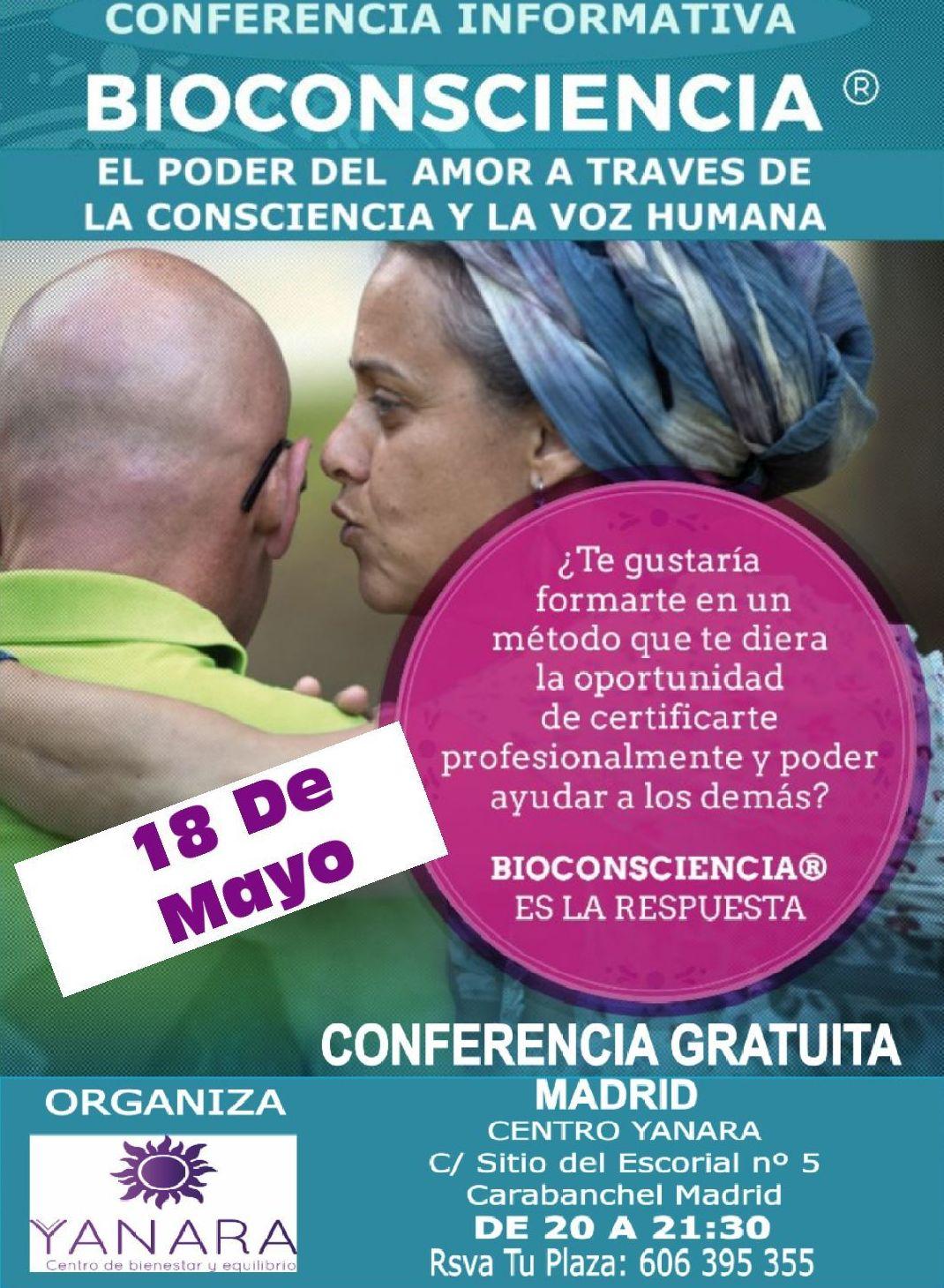 CONFERENCIA GRATUITA DE BIOCONSCIENCIA