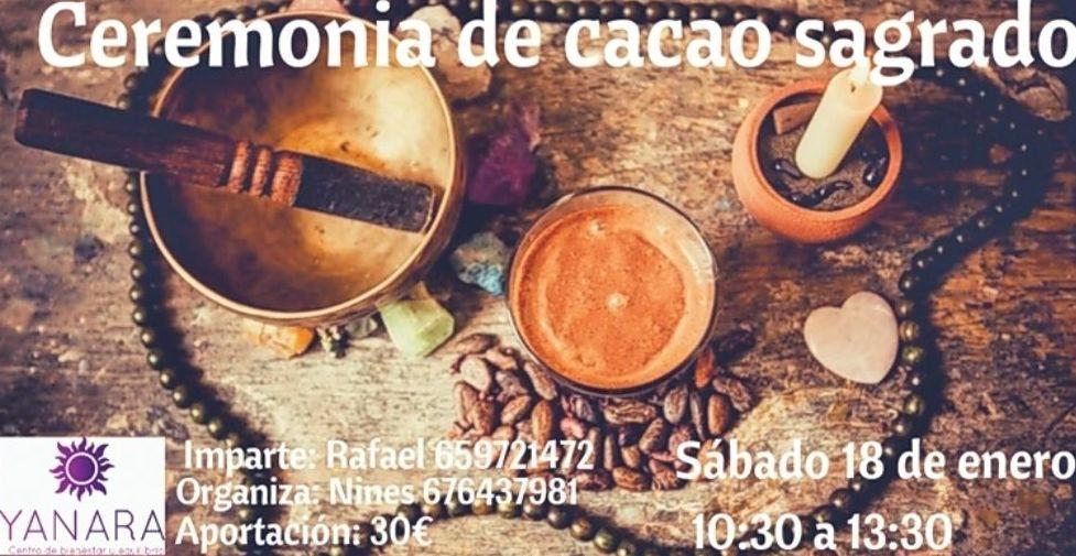 Ceremonia de cacao sagrado enero 2020