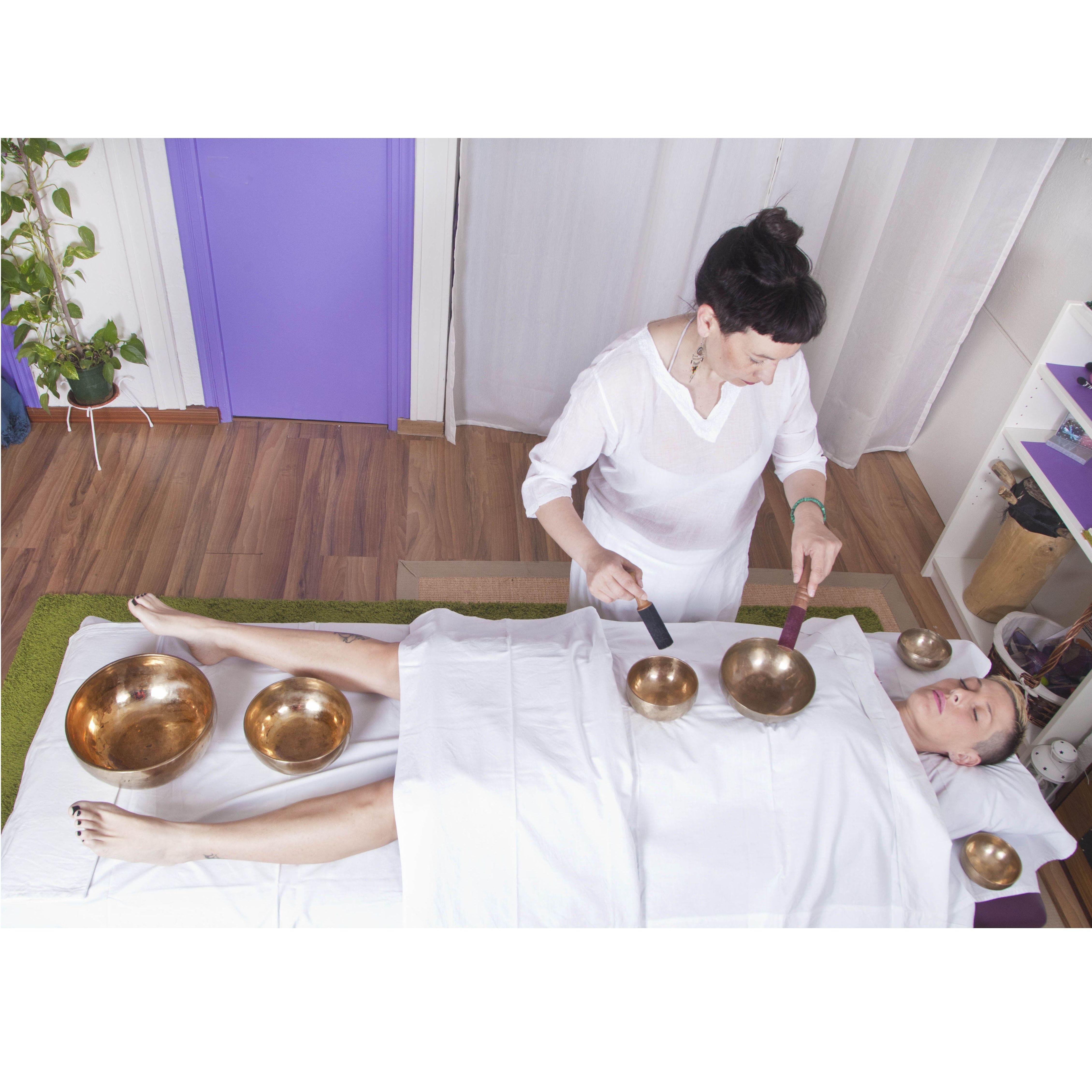 Masaje sonoro - energético (terapia vibracional o bioresonancia): Terapias de Yanara