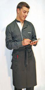 Ref. H11. Camisa exclusiva gris cuello Mao: Catálogo de Del Rey Exclusivas