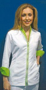 Ref. H08. Chaqueta cremallera verde lima: Catálogo de Del Rey Exclusivas