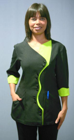 Ref. P49. Casaca negra y verde pistacho: Catálogo de Del Rey Exclusivas