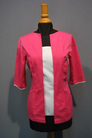 Ref. CL54. Casaca dos colores rosa y blanco: Catálogo de Del Rey Exclusivas