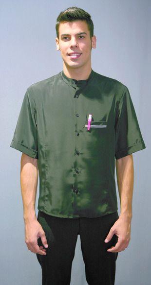 Ref. P55. Casaca moderna verde militar: Catálogo de Del Rey Exclusivas