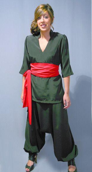 Ref. P43. Casaca kimono: Catálogo de Del Rey Exclusivas