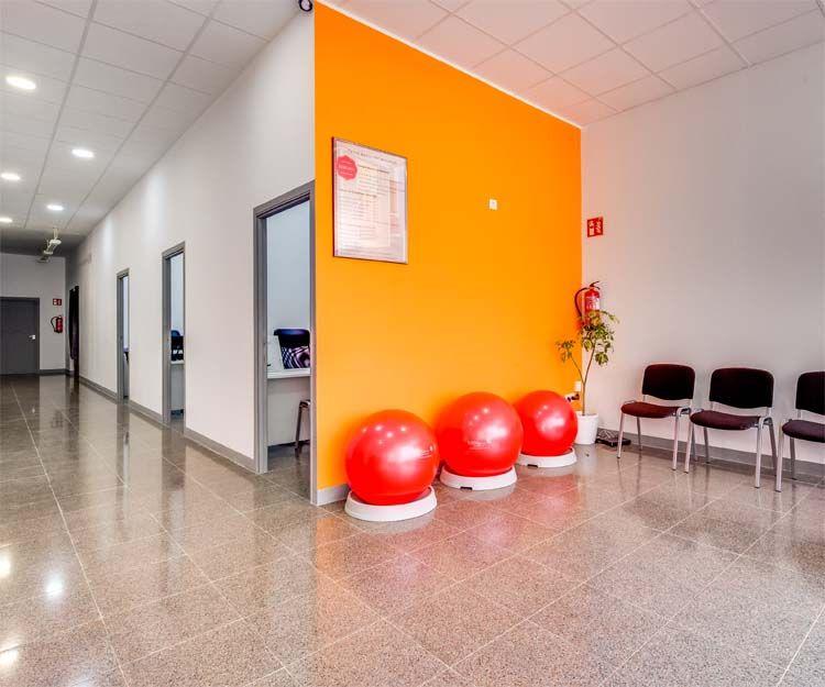 Interior de nuestro centro de rehabilitación en Girona