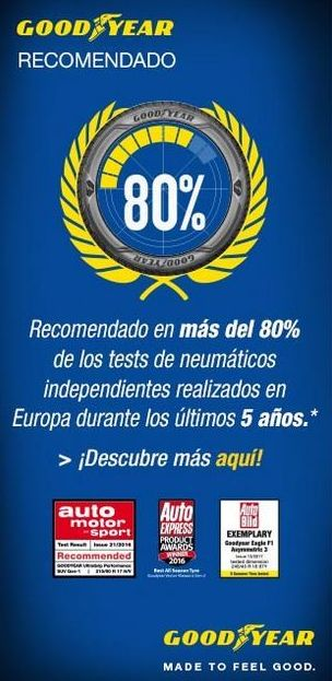 Ruedas Goodyear