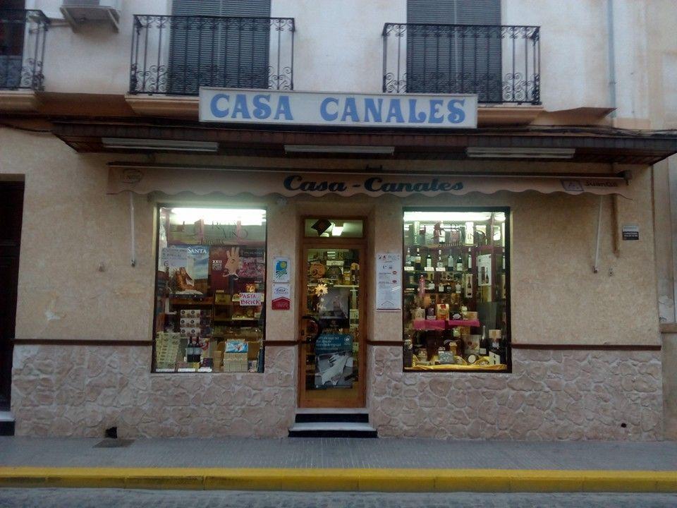 Tienda de productos típicos en Jumilla