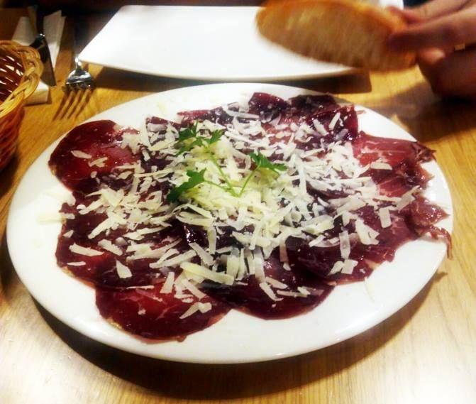 Los quesos y los curados: La carta  de Dos Chata